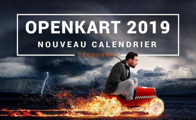 Calendrier OpenKart 2019