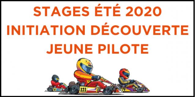 ÉTÉ 2020 : Stage initiation découverte jeune pilote