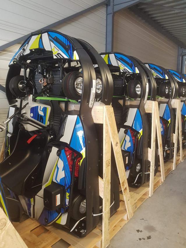 Nouveaux Karts 390cc ils sont là...
