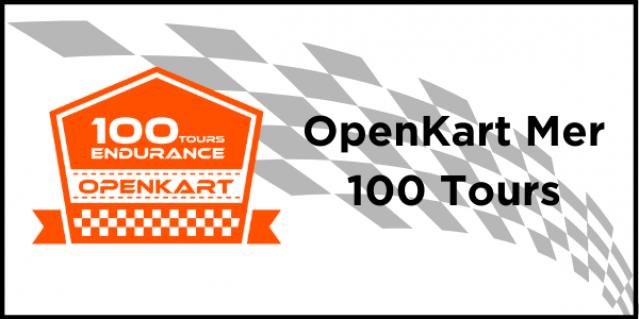 OpenKart Mer 100 TOURS Dimanche 25 octobre à 9H